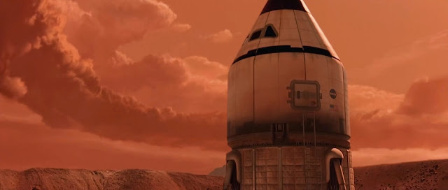 Mars ascent vehicle - Mission to Mars movie image