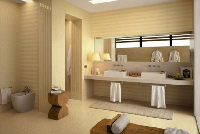 20 Desain Kamar Mandi Rumah Minimalis