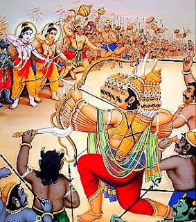 Battling the Asuras