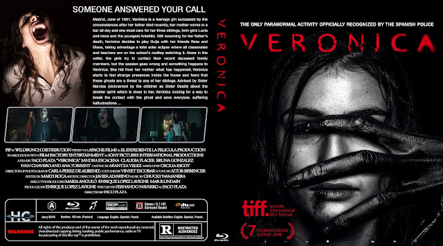 Veronica Bluray Cover