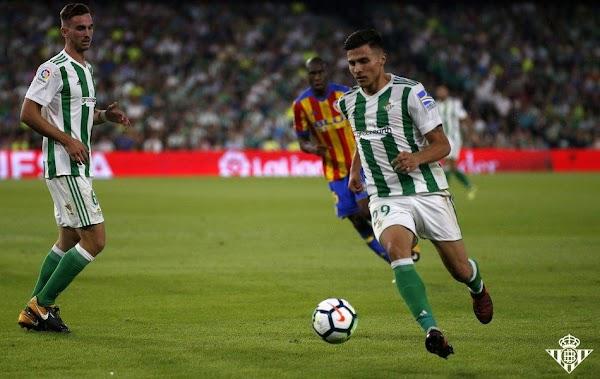 Oficial: Betis, Narváez cedido al Córdoba