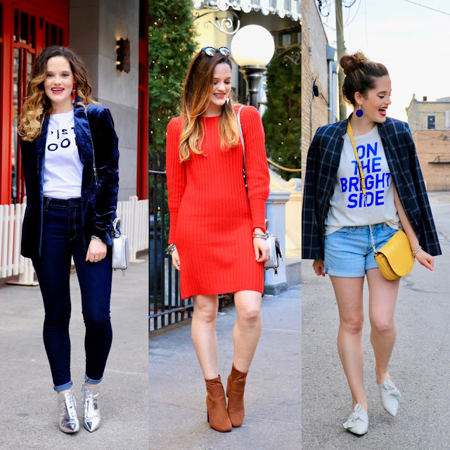 Nyc fashion blogger Kathleen Harper's cute spring outfits