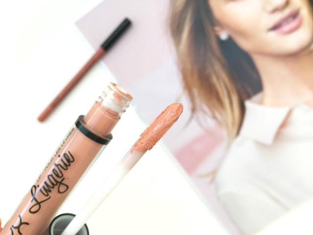 NYX lip lingerie , NYX lip lingerie  review, NYX lip lingerie Satin Ribbon, NYX lip lingerie Satin Ribbon,