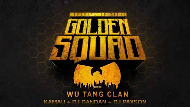 Golden Squad apresenta KAMAU + DJ DanDan & Paxson na próxima véspera de feriado!