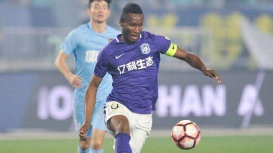 Mikel Obi Quits Tianjin Teda, Chinese Club