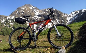 Wallpaper: KTM Professional Mountain Bike