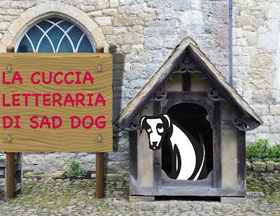 logo del Sad Dog Project nella cuccia letteraria