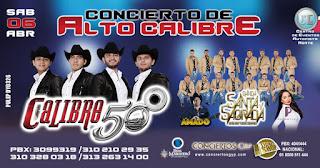 Concierto ALTO CALIBRE 2019 Bogotá