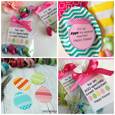 Easter printable tags and ideas@michellepaigeblogs.com
