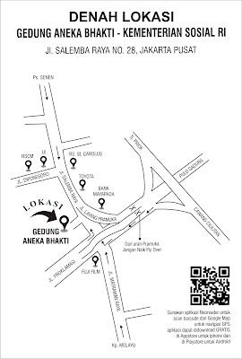 Denah Lokasi Gedung Aneka Bhakti
