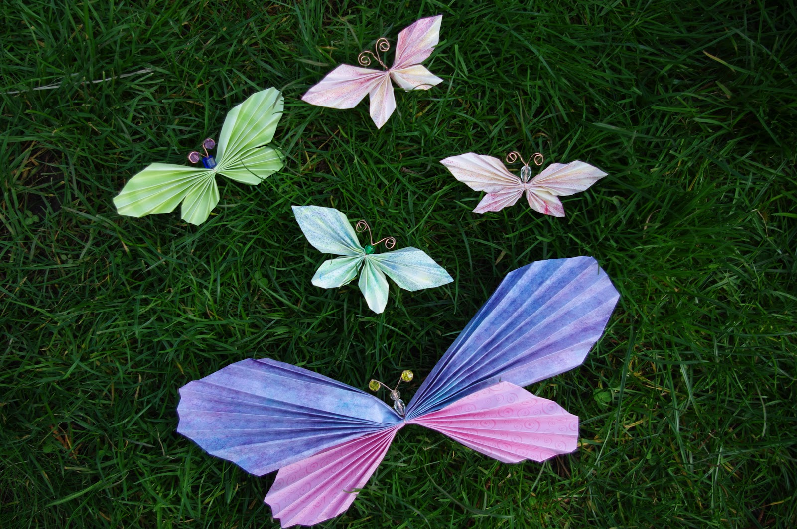Butterfly Paper Craft - photo#45