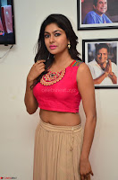 Akshita super cute Pink Choli at south indian thalis and filmy breakfast in Filmy Junction inaguration by Gopichand ~  Exclusive 014.JPG