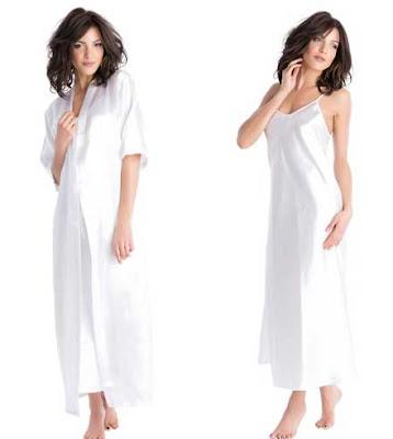 picardias y kimono de color blanco