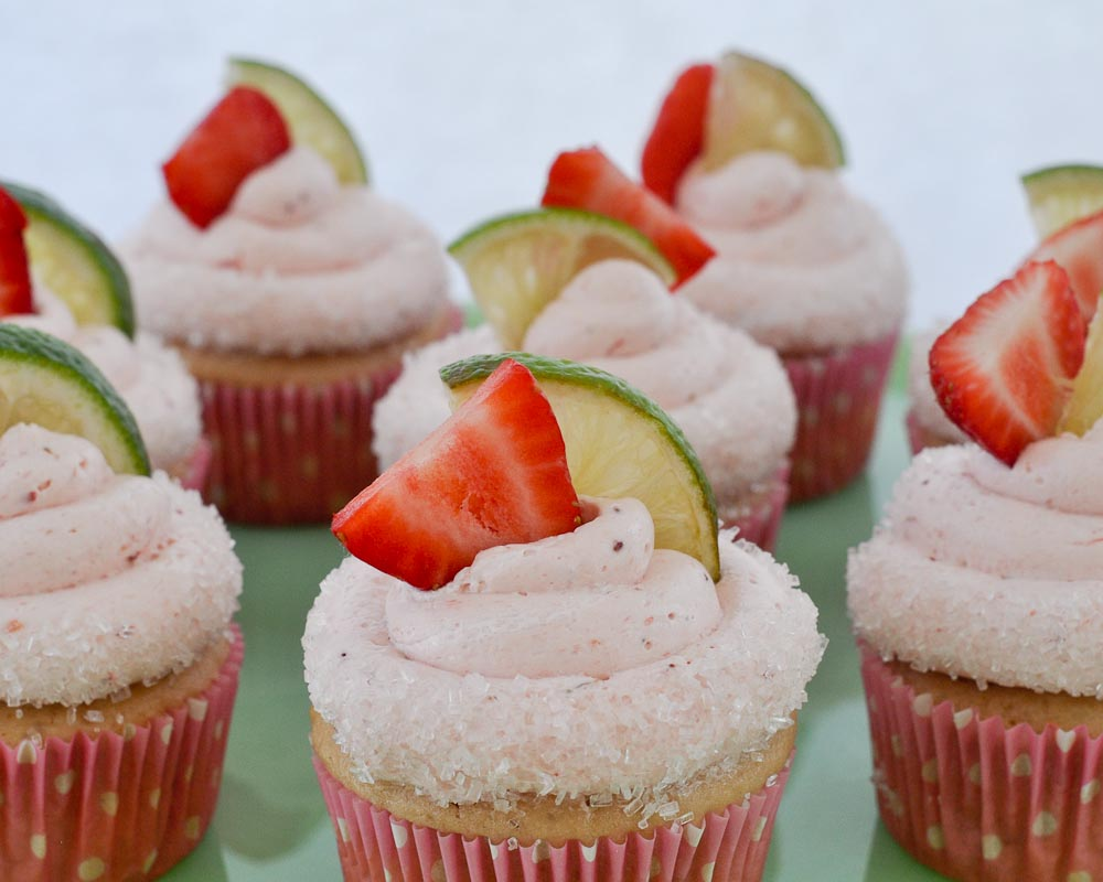 Beki Cook S Cake Blog Strawberry Margarita Cupcakes Recipe