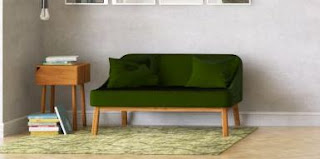 model sofa minimalis simpel ruang tamu sempit