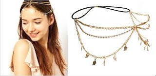 gold headpiece jewelry in best Body Piercing Jewelry