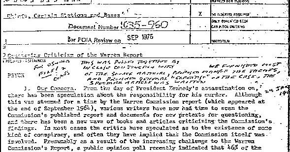 ПОЧЕМУ ЦРУ СОЗДАЛО ТЕРМИН «ТЕОРИЯ ЗАГОВОРА» В 1967 ГОДУ