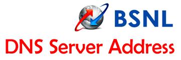 BSNL DNS Server IP Address for High Speed Internet