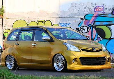 Modifikasi Toyota Avanza Ceper