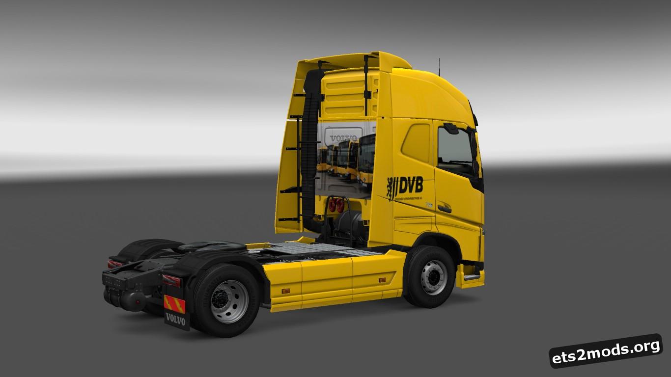 DVB Skin for Volvo 2012