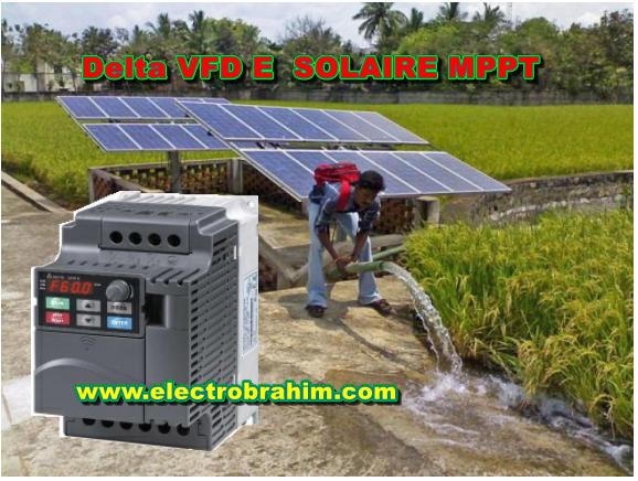 تحميل ملف برمجة انفرتر دلتا vfd e solar pump inverter للطاقة