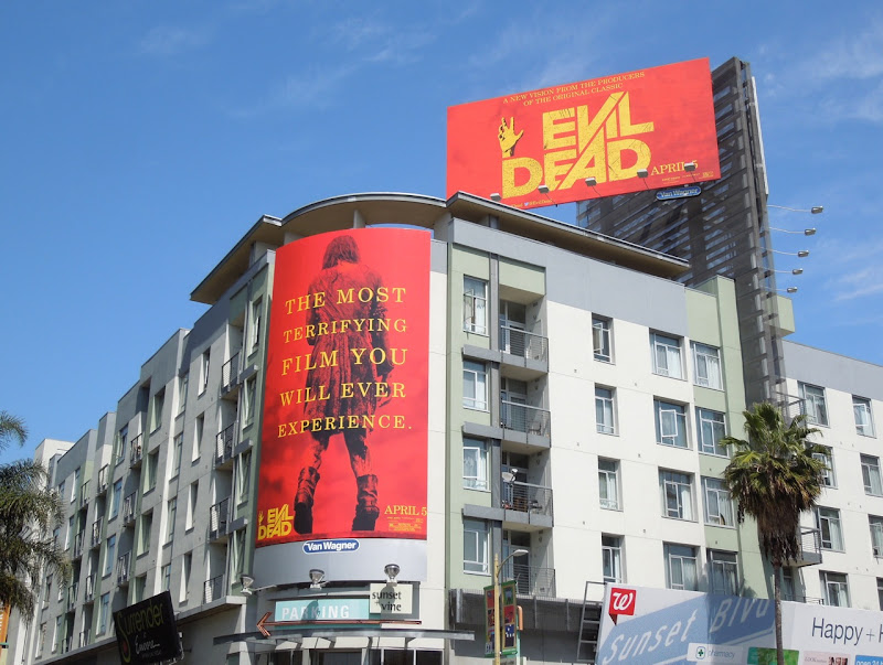 Evil Dead 2013 remake billboards