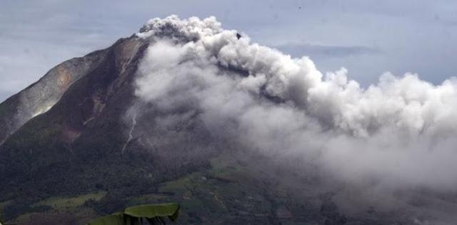 Berita Terkini Bahasa Jawa Gunung Sinabung