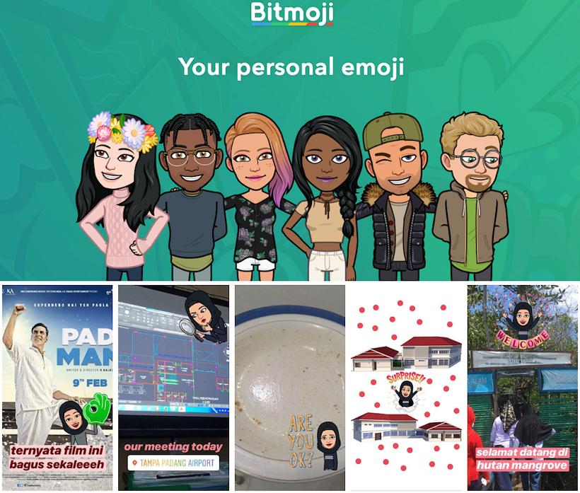 Story Instagram Bitmoji