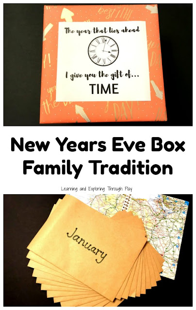 New Years Eve Ideas for Kids - New Years Gift of Time