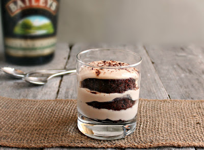 Bailey's Irish Cream Cheese Trifle