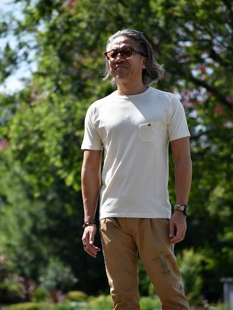 40代メンズTシャツ コーディネート