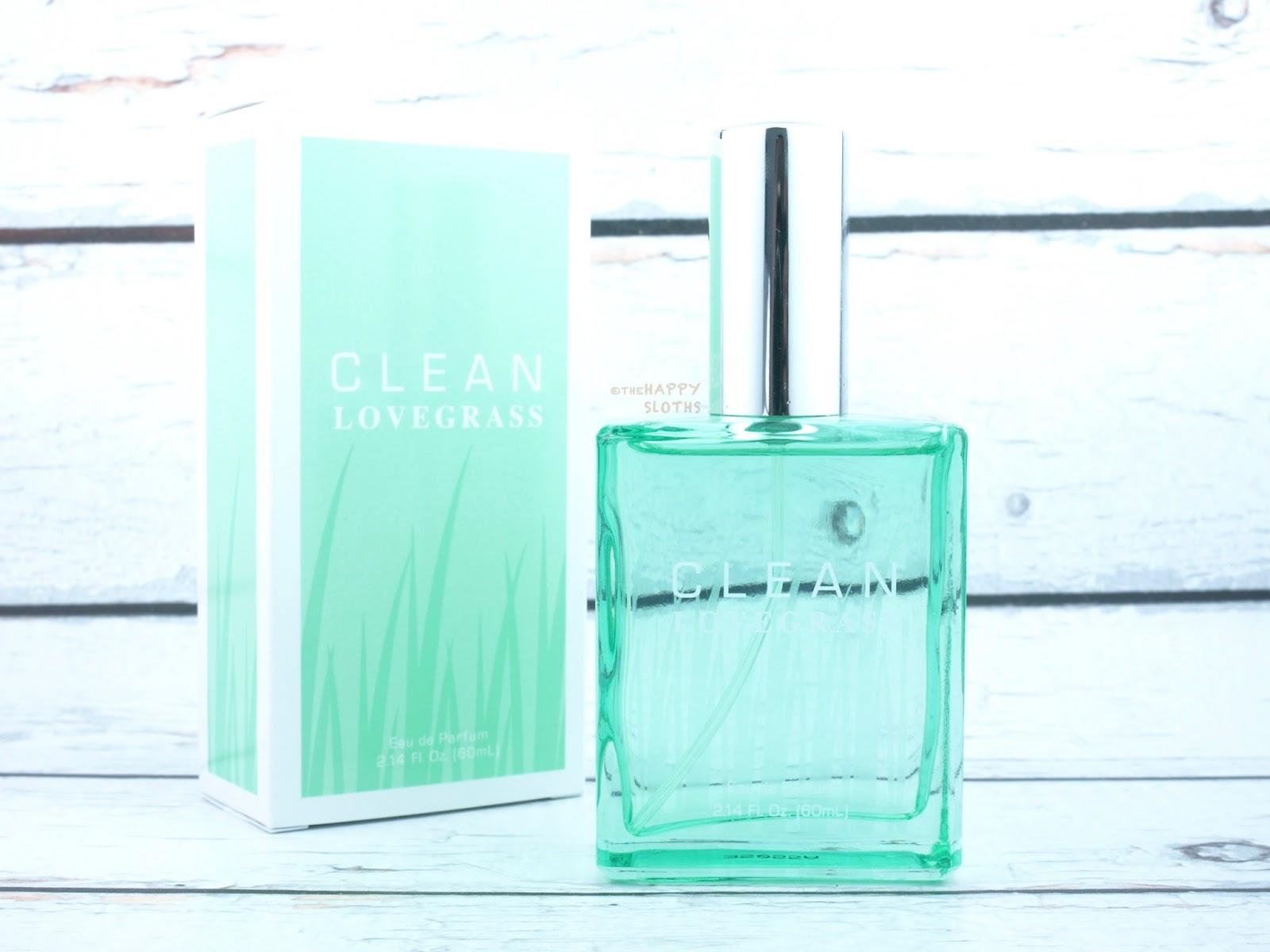 Clean Lovegrass Eau de Parfum: Review