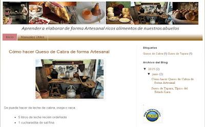 """Cocina artesanal, tradicional"""