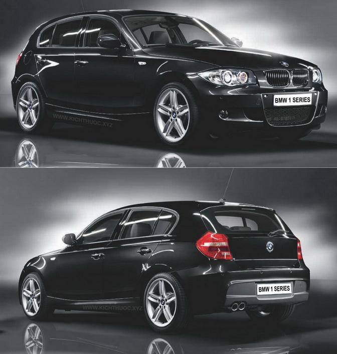 Bmw Xe: KÍCH THƯỚC XE BMW CÁC LOẠI