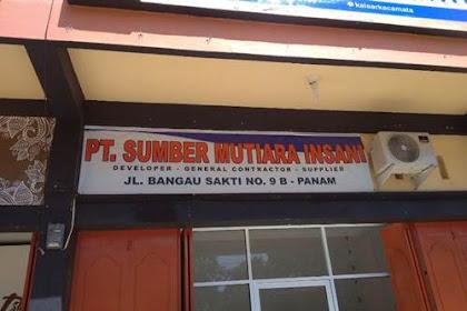 Lowongan Kerja PT. Sumber Mutiara Insani Pekanbaru September 2018
