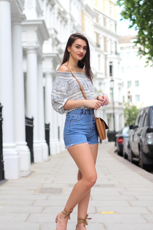 peexo summer wardrobe staple piece bardot top