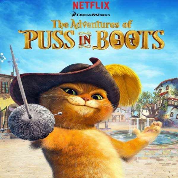 Puss in Book: Trapped in an Epic Tale, Puss in Book: Trapped in an Epic Tale Synopsis, Puss in Book: Trapped in an Epic Tale Trailer, Puss in Book: Trapped in an Epic Tale Review, Poster Puss in Book: Trapped in an Epic Tale