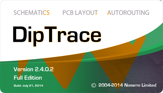 DipTrace 2.4.0.2 Full Crack
