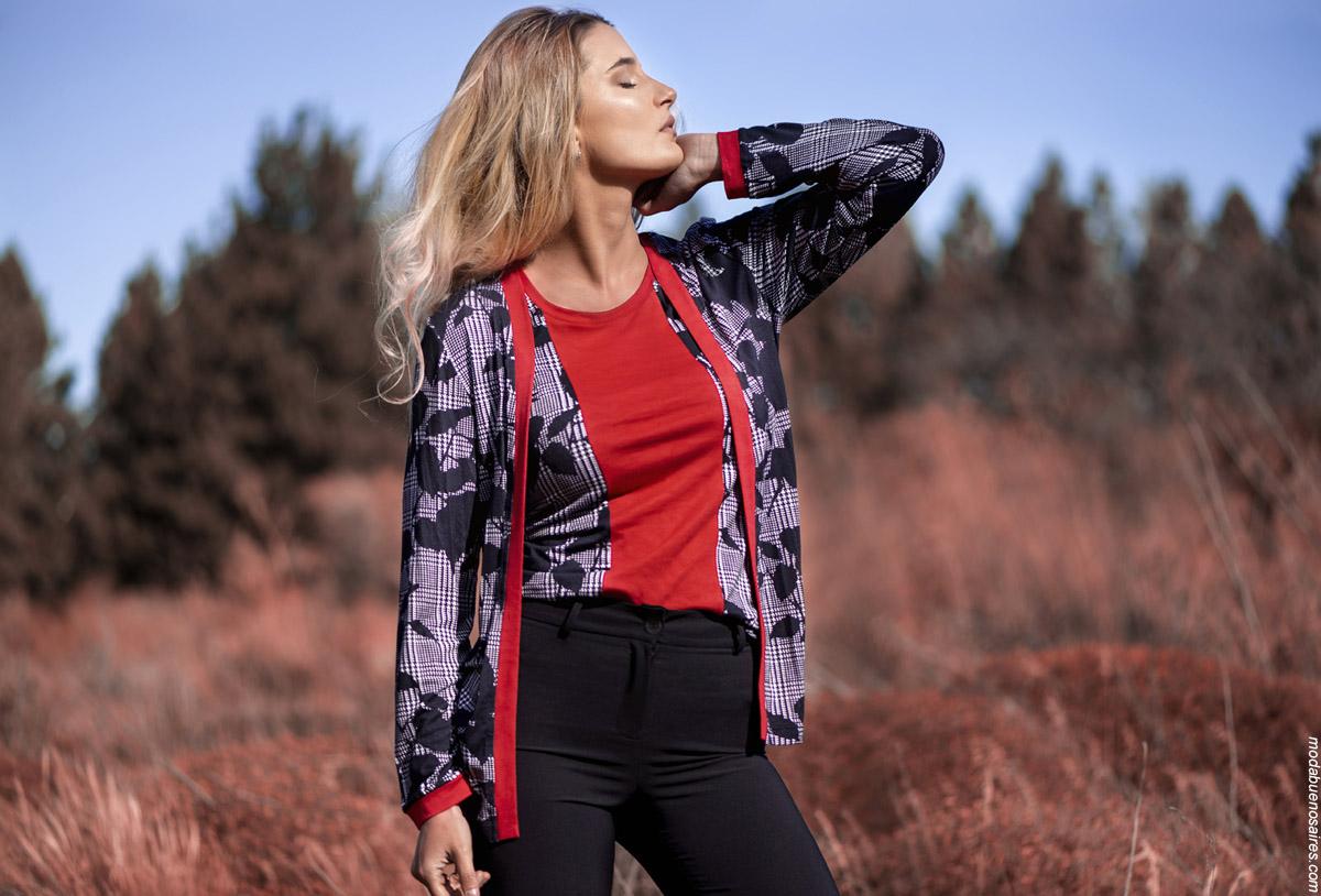 Veramo invierno 2019. Looks moda urbana mujer invierno 2019.