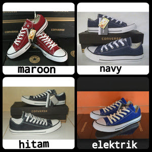 Sepatu converse all star low grade