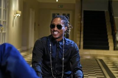 American Rapper, Future Arrives In South Africa To Headline #MTVMAMA2016