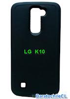 Carcasa negra LG k10
