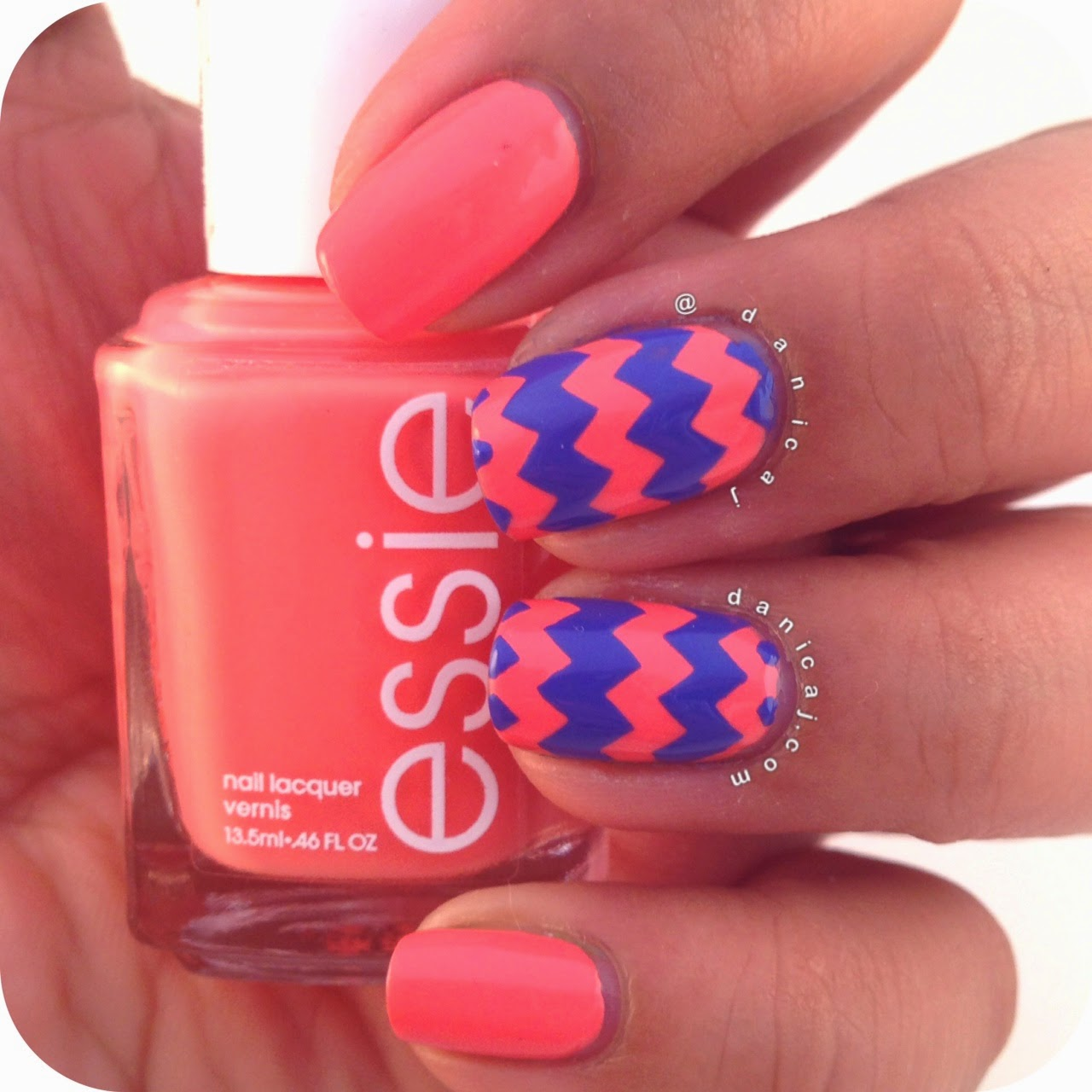 It Works To Draw Attention The Nail And Design Best Of All You Already Know Colours Will Work Well Together Because Youve Used Them On