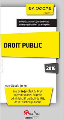 Télécharger Livre Gratuit Droit public - Les points clés du droit constitutionnel, du droit administratif, du droit de l'UE, de la fonction publique pdf
