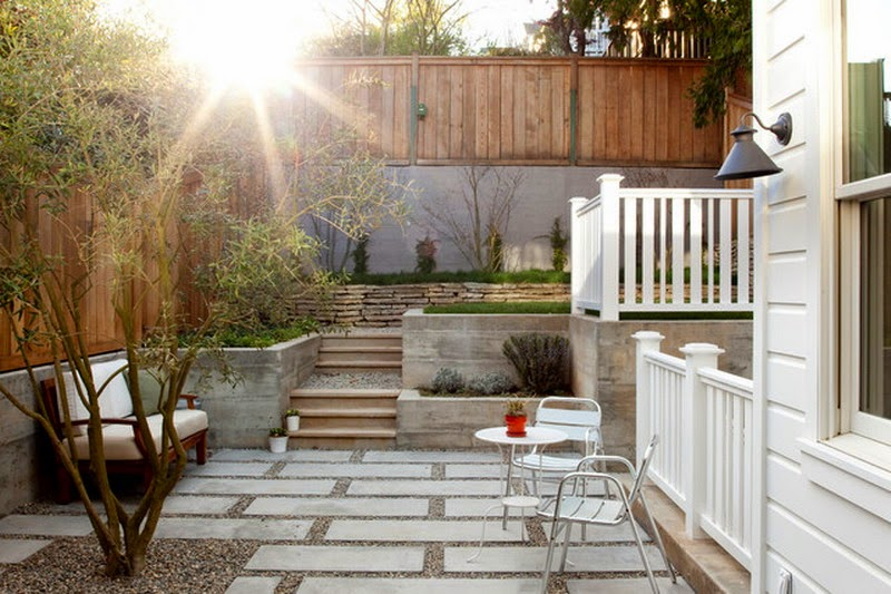Outdoor patio ideas for small yard