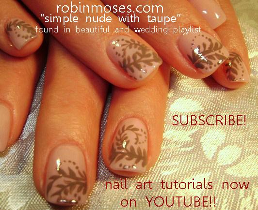 Nail Art By Robin Moses O Pinko De Gallo Opi Nails Neutral Taupe