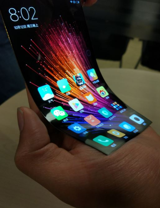 Informasi Teknologi - Xiaomi Layar Fleksibel