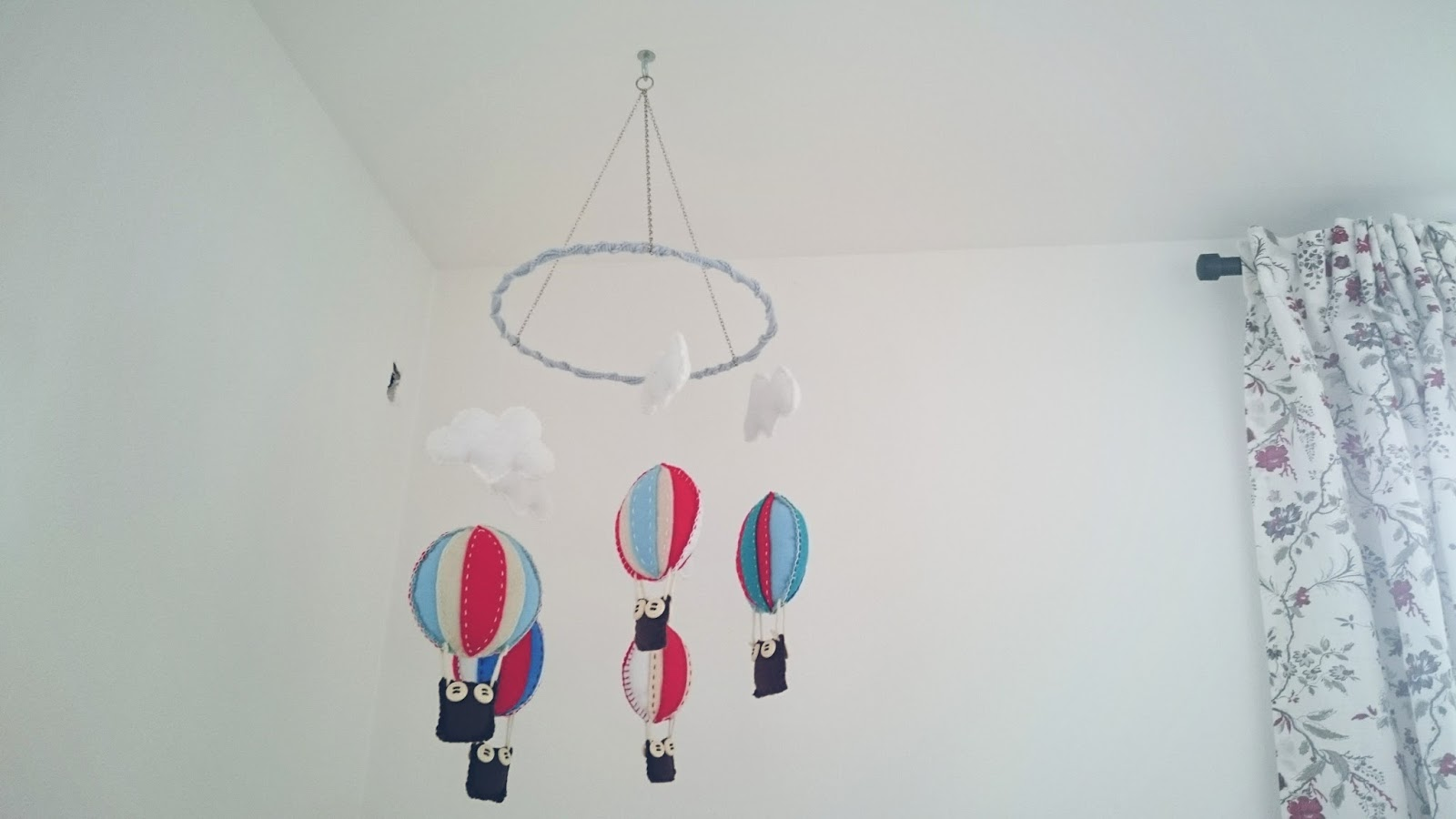 Gemutshandwerk Diy Ballon Mobile Aus Filz