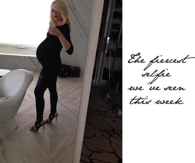 Gwen Stefani baby bump