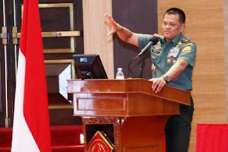 Panglima TNI : TNI Dukung Pembangunan Nasional Dari Pinggiran